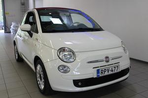 Fiat 500C Italia 1,2 8v 69hv Bensiini, vm. 2012, 45 tkm (2 / 9)
