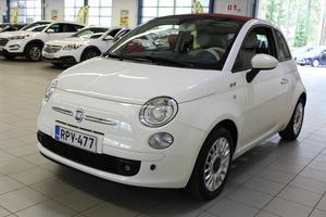 Fiat 500C Italia 1,2 8v 69hv Bensiini, vm. 2012, 45 tkm (3 / 9)