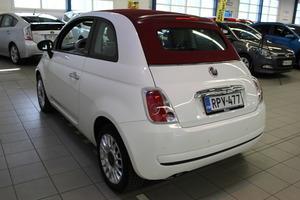 Fiat 500C Italia 1,2 8v 69hv Bensiini, vm. 2012, 45 tkm (4 / 9)