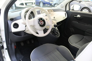 Fiat 500C Italia 1,2 8v 69hv Bensiini, vm. 2012, 45 tkm (7 / 9)