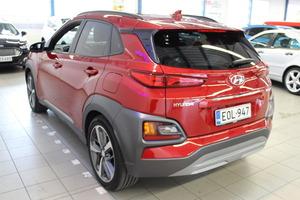 Hyundai KONA 1,6 T-GDI 7DCT-aut. Style WLTP * hyvillä varusteilla, kuin uusi*, vm. 2019, 8 tkm (4 / 10)