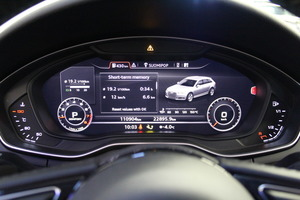 Audi A4 Avant Business 2,0 TFSI 185 kW quattro S tronic, vm. 2016, 111 tkm (11 / 15)